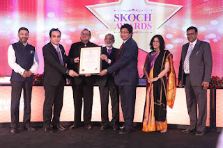 India Tourism Development Corporation (ITDC) wins SKOCH Silver Award at the 46th SKOCH Summit 2016