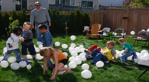 Birthday Party Balloon Games
