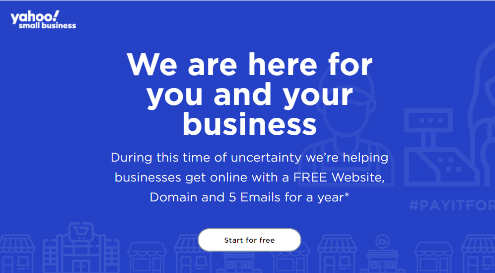 Yahoo Small Business Signup