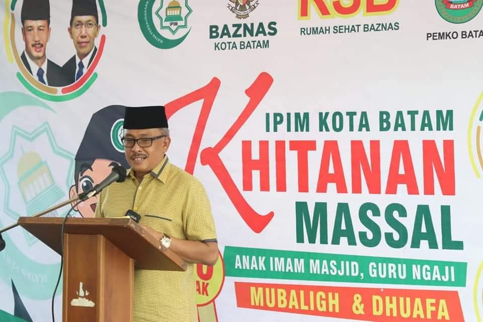 IPIM Batam dan BAZNAS Kota Batam Gelar Khitanan Massal Secara Gratis, Pemko Batam Beri Apresiasi