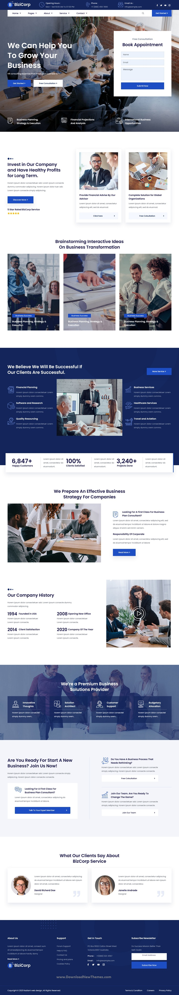 Business Consulting Template Kit