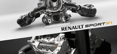 Dettagli motore Renault F1 per il 2014