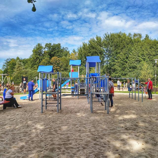 małpi gaj, Wrocław, okolice, park w Szczodre