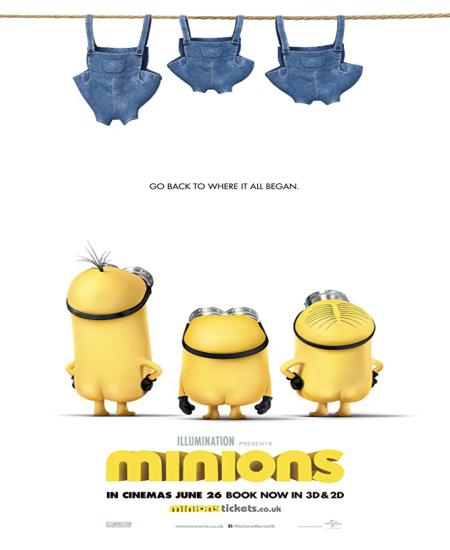 Minions (2015) Dual Audio Hindi-Eng 480p BluRay Watch Online Full Movie Download