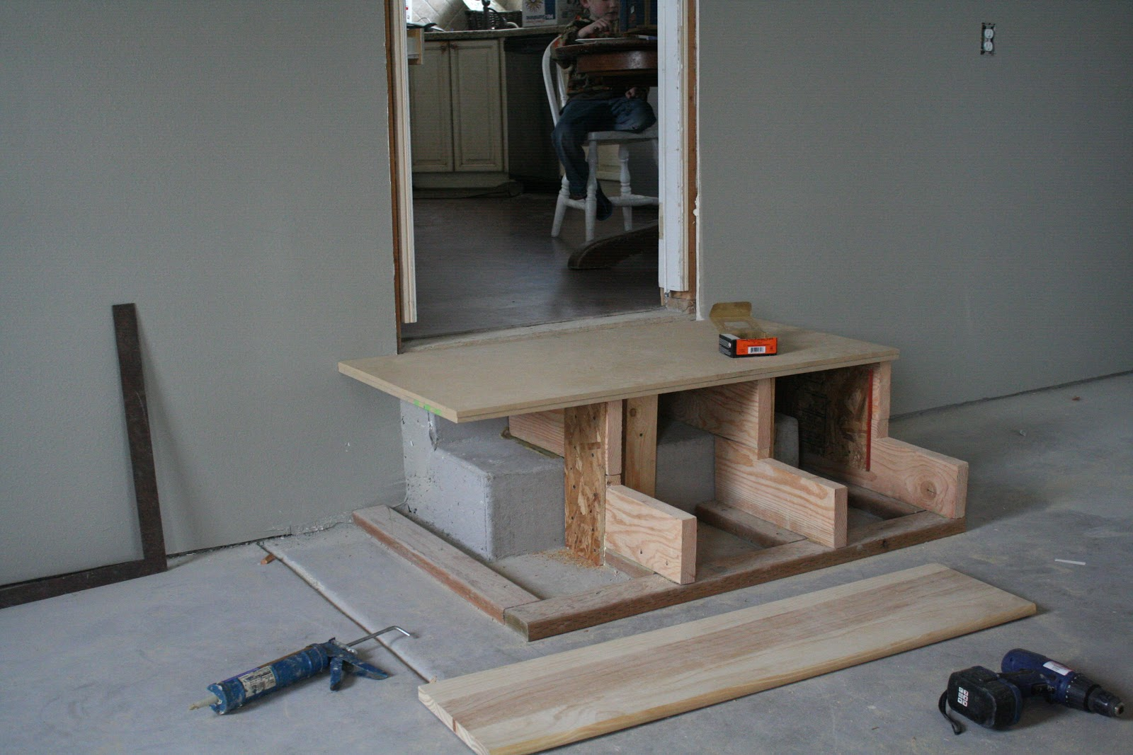 Building Wood Steps Over Concrete Mycoffeepot Org