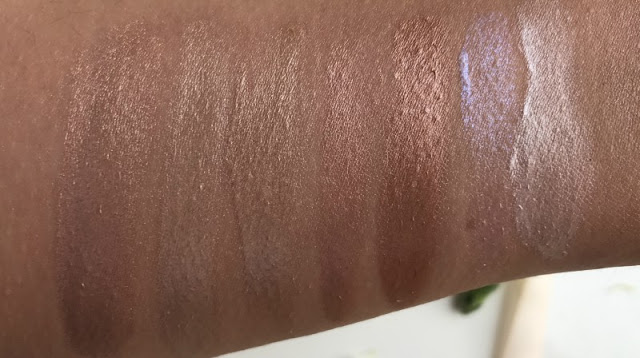 Makeup Revolution Liquid Highlighters Review Swatch Swatches