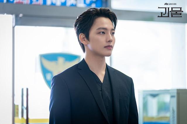 Yeo Jin Goo sebagai Inspektur Polisi Han Joo Won : Sinopsis dan review drama Beyond Evil 2021