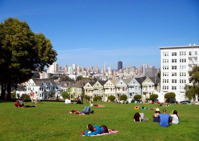 Alamo Square Park em San Francisco