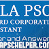 Kerala PSC Company Corporation Assistant Answer Key 2018