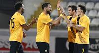 Φιλική νίκη της ΑΕΚ στην Κύπρο επί της Ανόρθωσης με 3-1