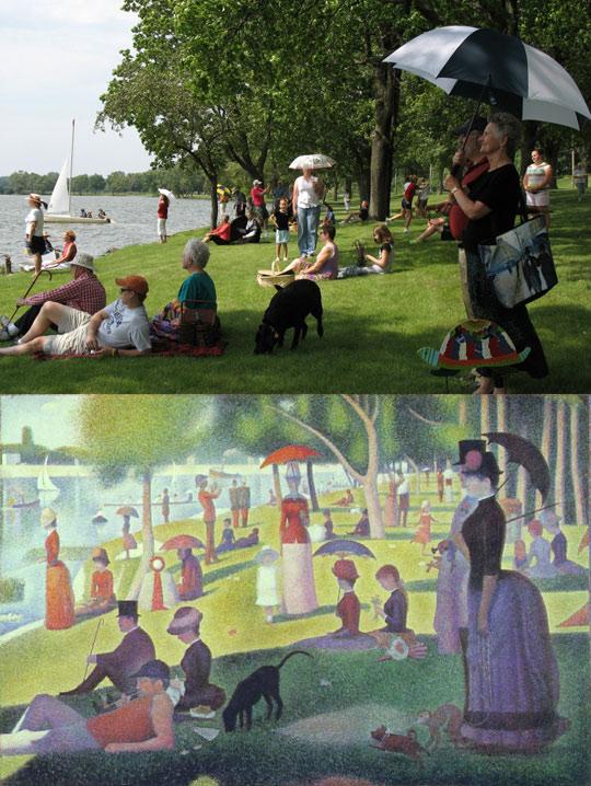 reality imitates art