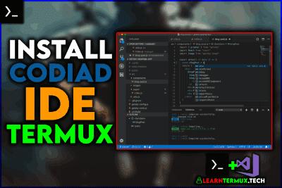 Termux IDE  Install Codiad In Termux - 2020