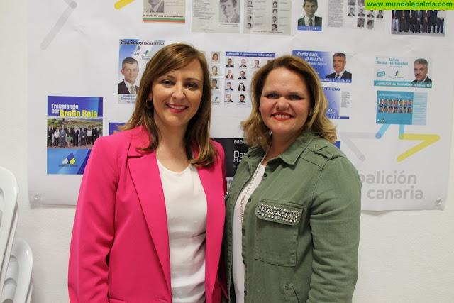 Yessica Pérez será la candidata de Coalición Canaria a la Alcaldía de Breña Baja