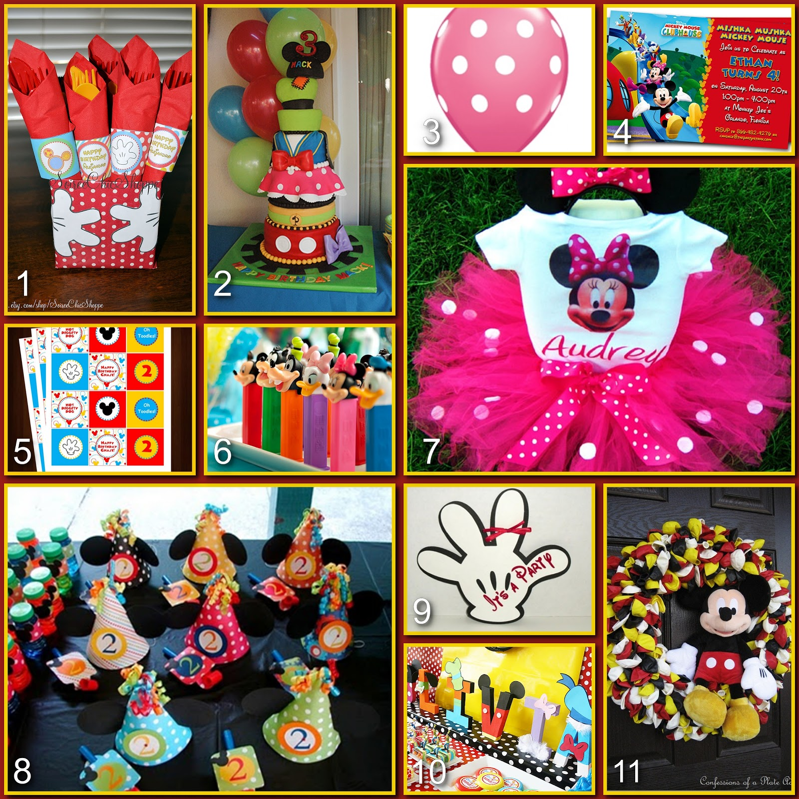 Disney donna kay disney party boards mickey mouse - Mickey mouse clubhouse bedroom decor ...
