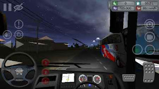 Screenshot of game Bus simulator apk indonesia