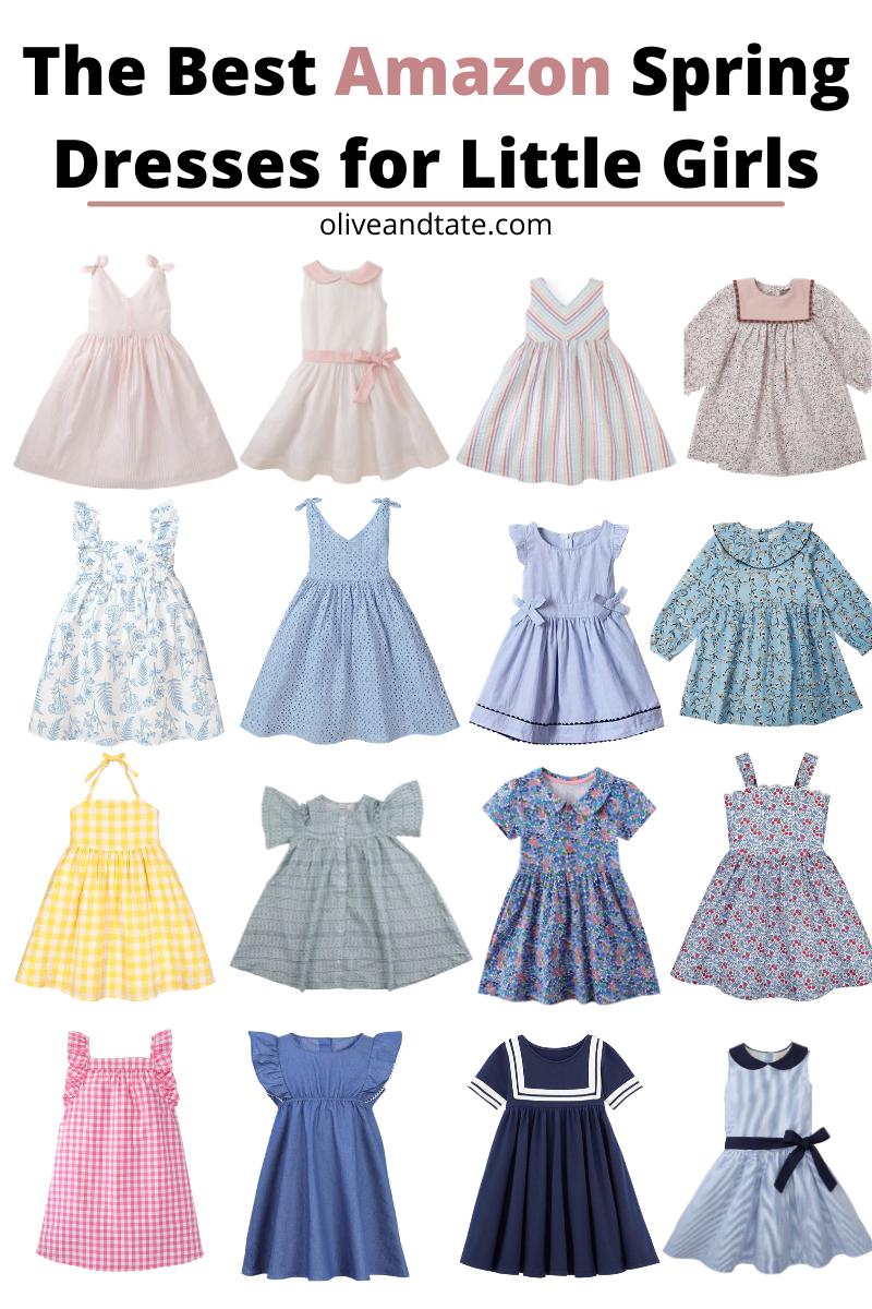 The Best Amazon Spring Dresses for Little Girls