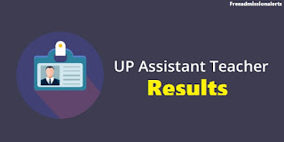 UP Assistant teachers result