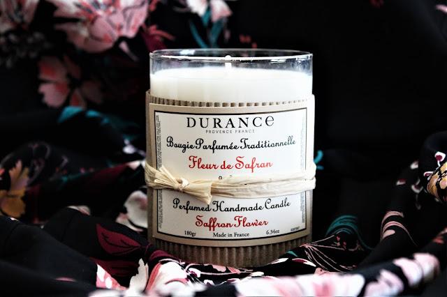 fleur de safran durance avis, durance fleur de safran bougie parfumée, fleur de safran, bougie fleur de safran durance, bougie parfumée durance, bougie durance avis,parfum d'ambiance, parfums durance, blog bougie parfumée, bougie parfumée française, bougies durance, durance