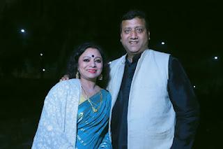 Meena Rana Gadwali Singer, husband