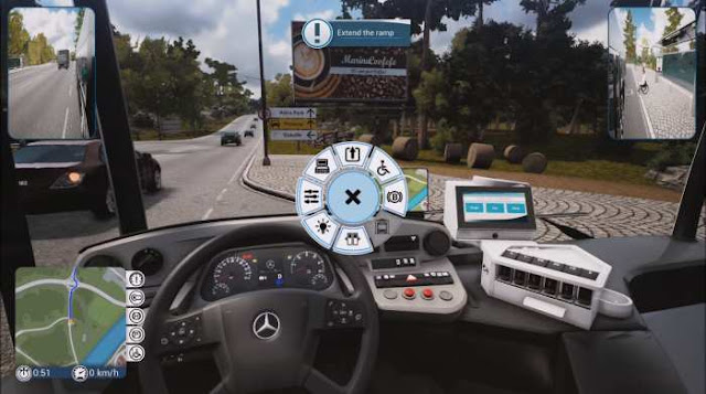 Bus Driver Simulator 2019 an adventure game in the style of a simulator, where you will be involved in managing the bus.