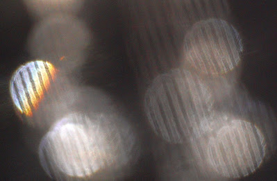 orbs with vertical stripes