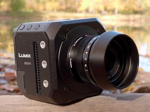 Lumix BGH1 .. Box video camera
