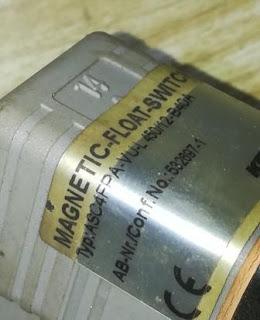 For Sale: KSR KUEBLER ASC4FPA-V  MAGNETIC FLOAT SWITCH KSR KUEBLER Type:ASC4FPA-V  VU-L 450/12-B40A Email: idealdieselsn@hotmail.com