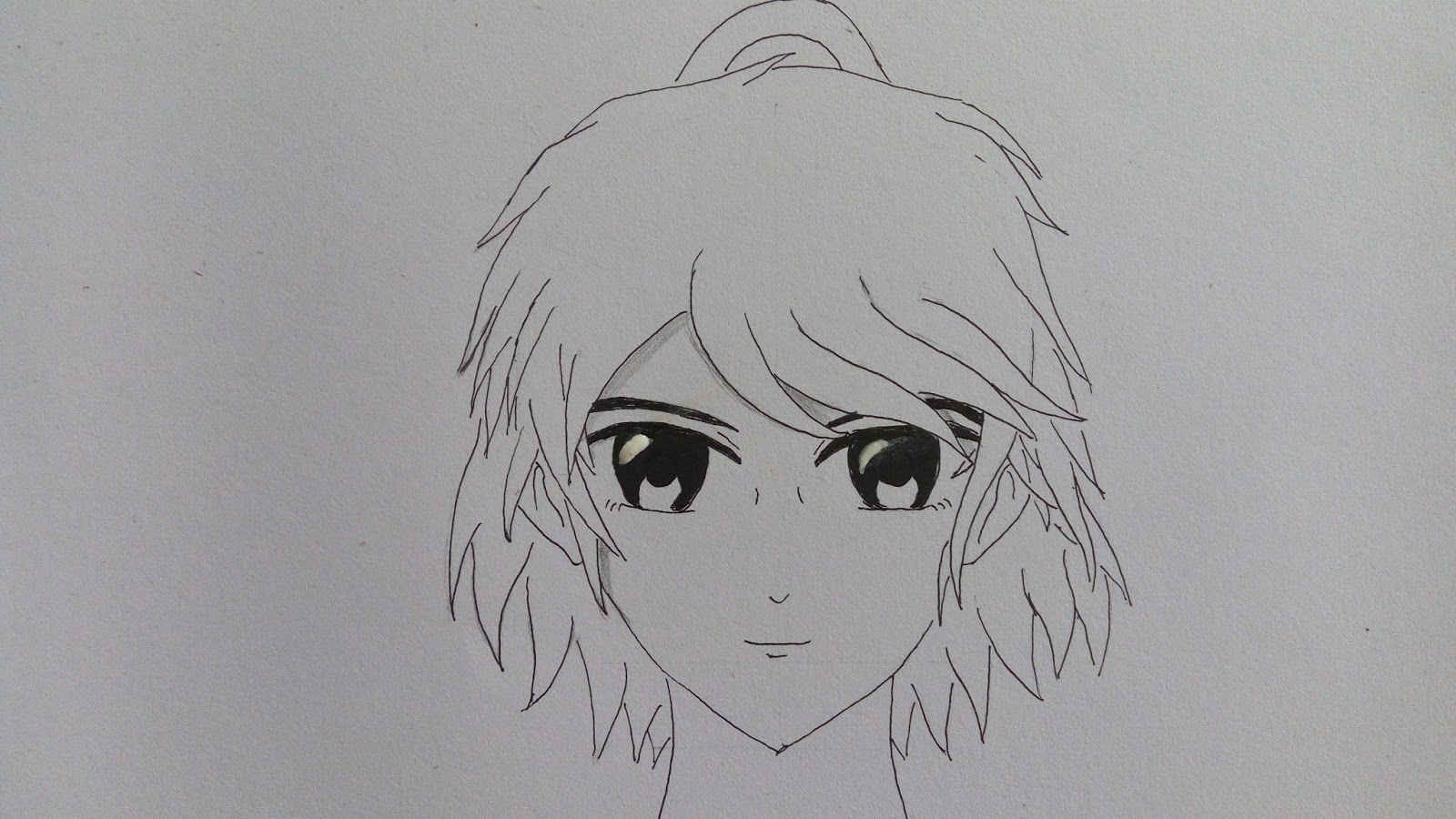 Cara menggambar kepala karakter manga wanita staynime