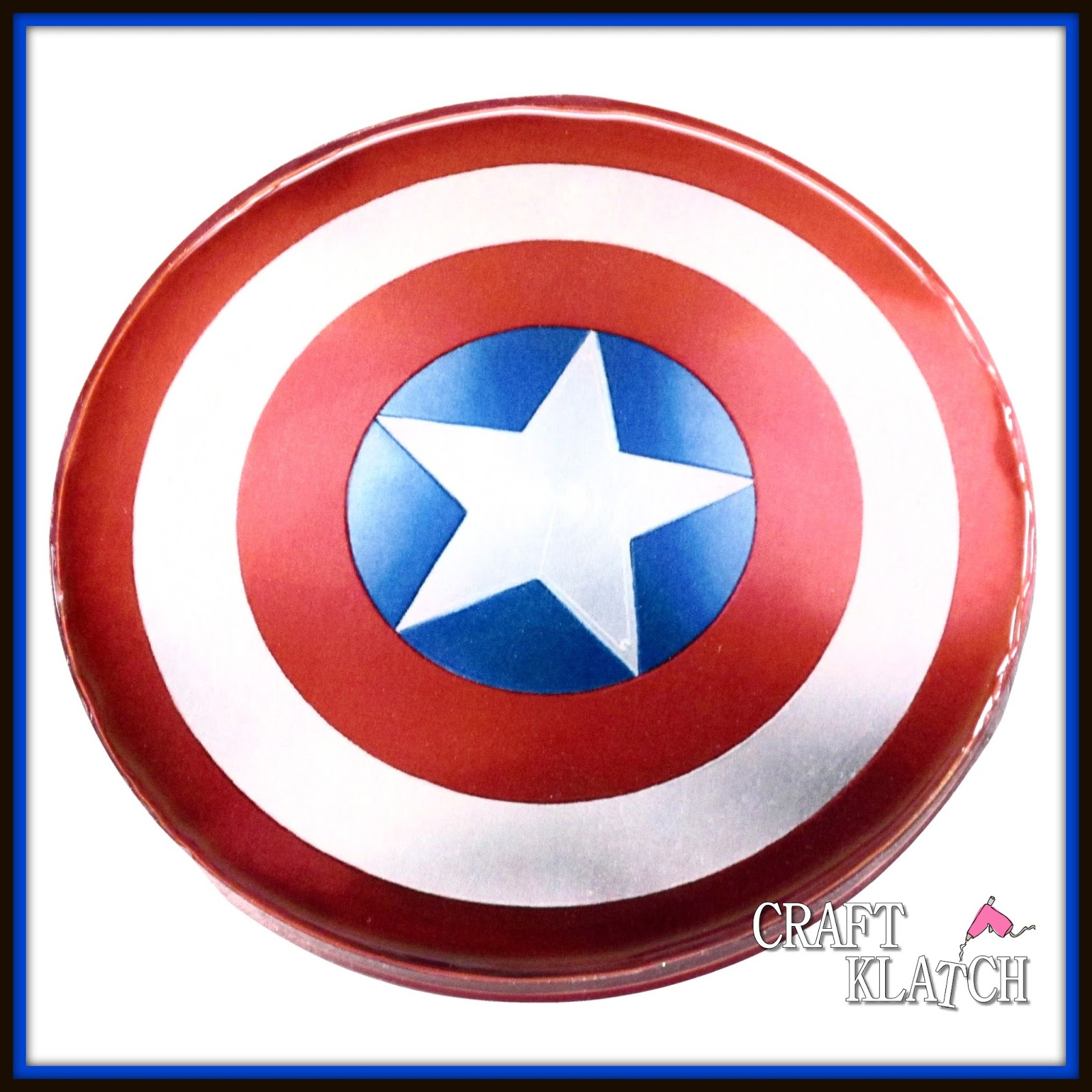 Craft Klatch How To Captain America Resin Drink Coaster