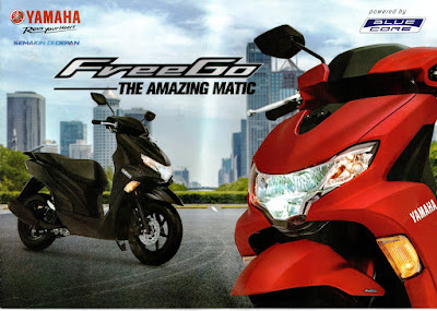 Motor Yamaha Freego