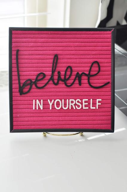 Pink Letterboard #letterboard #jengallacher #heidiswapp