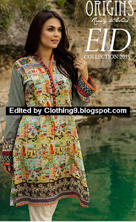 Origins Eid Dresses Collection 2015-2016