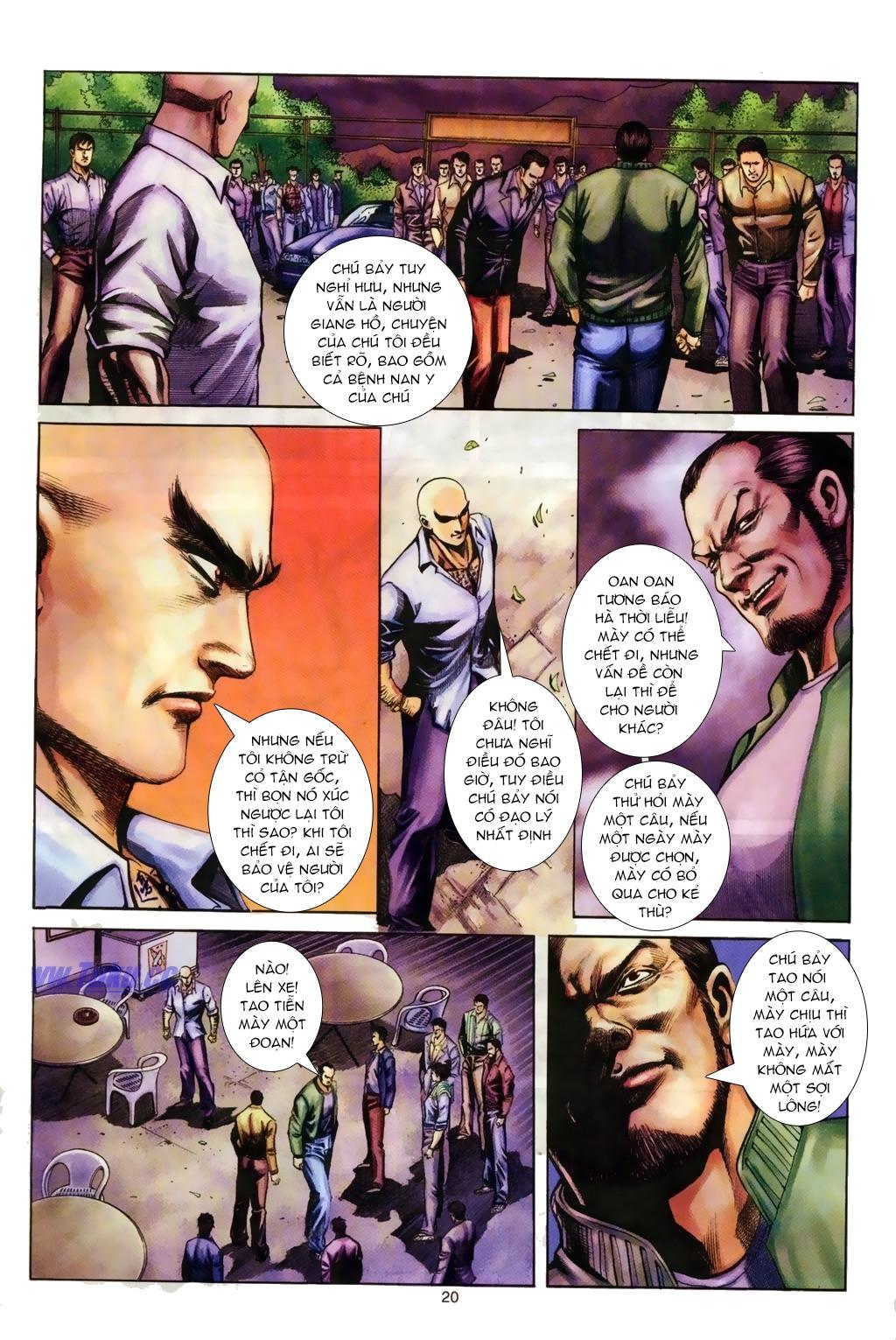 Đại Ca Giang Hồ chap 6 - Trang 8