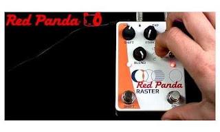 Red Panda Raster Delay (Pedal Efek Gitar)