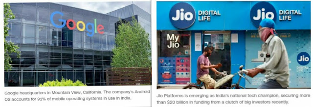 Google and Jio partners in India to win over new smartphone users
