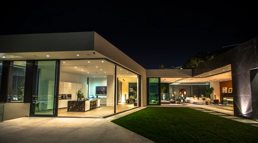 45 Interior Design Photos vs. 1442 Tanager Way, Los Angeles, CA Ultra Luxury Mansion Tour