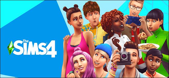 شخصيات من مسلسل The Sims 4.