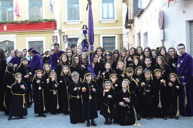 XV Encuentro de Tercios Infantiles de Semana Santa de Cieza