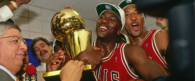 Michael Jordan Scottie Pippen Phil Jackson David Stern Jason Hehir | Chicago Bulls 1997–98 | ESPN The Last Dance