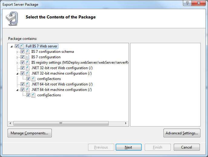 Softminer Net: How to backup your IIS 7 configuration