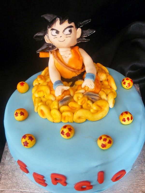 Mis ideas tortas tortas de dragon ball z for Cuartos decorados de dragon ball z