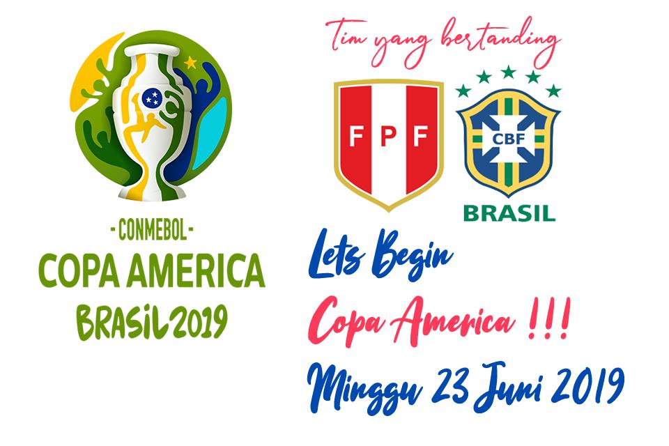 Copa America Brasil 23 Juni 2019