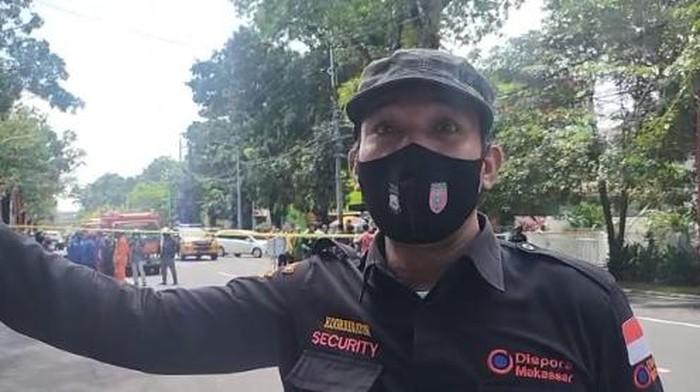 Kesaksian Warga soal Kencangnya Suara Ledakan Bom Depan Gereja Katedral Makassar