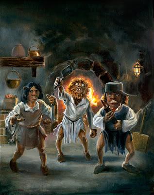Trolls Fantasy Art by Jeff Ward