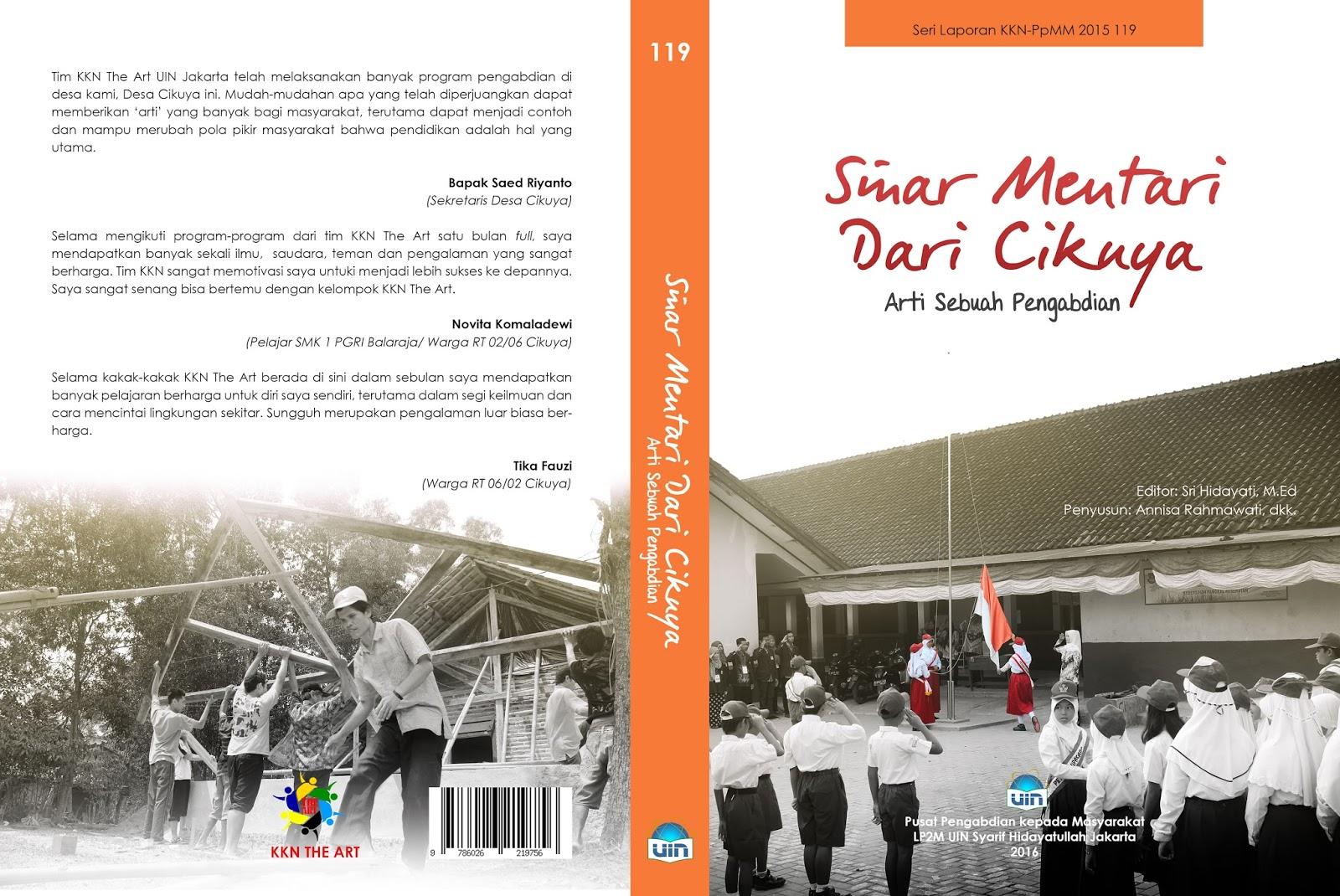 Cover Laporan Kkn The Art Uin Jakarta 2015 Desainsasi Graphic