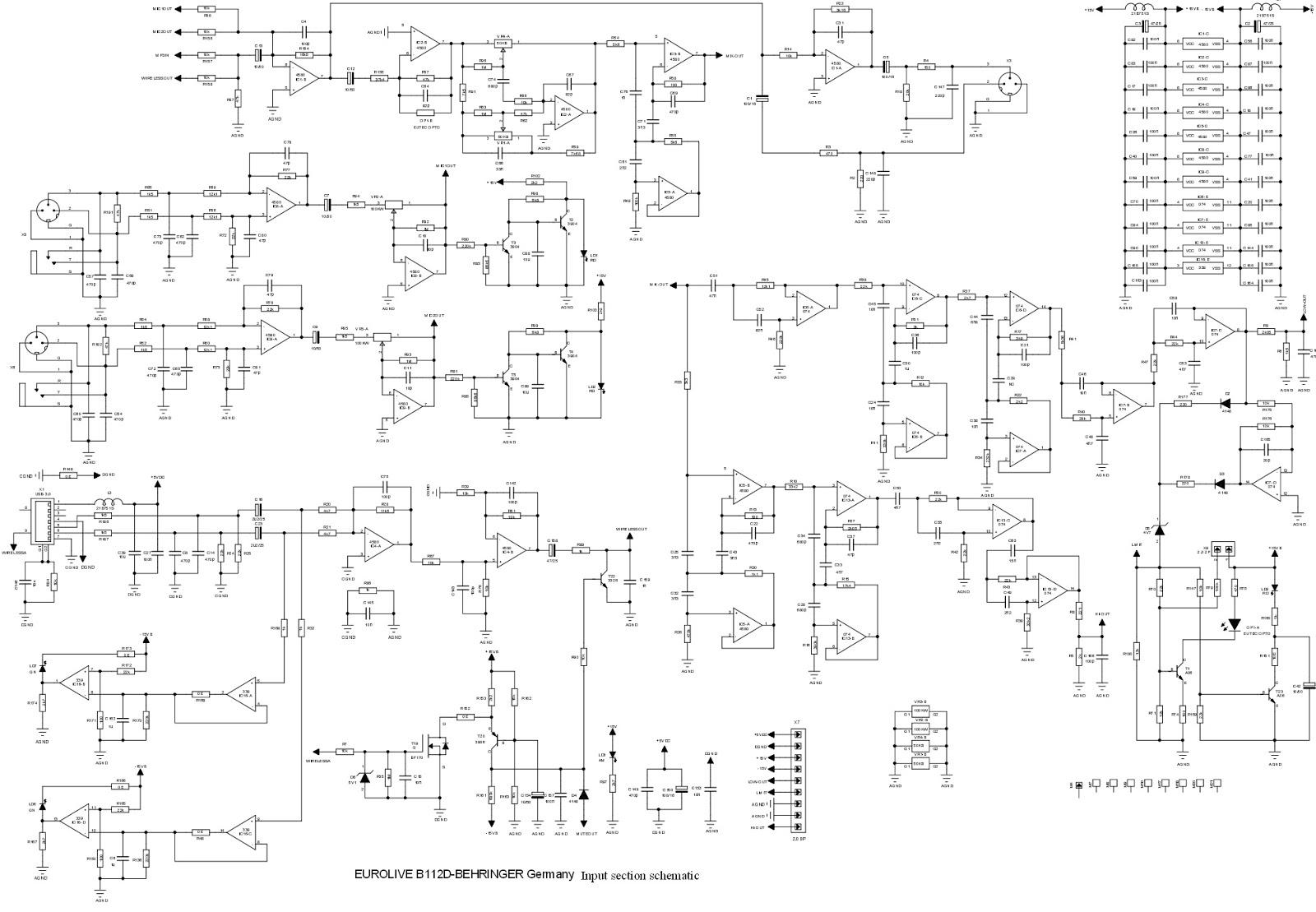 hight resolution of behringer pa system wiring diagram pa system setup diagram pa pa eurolive b112d behringer germany
