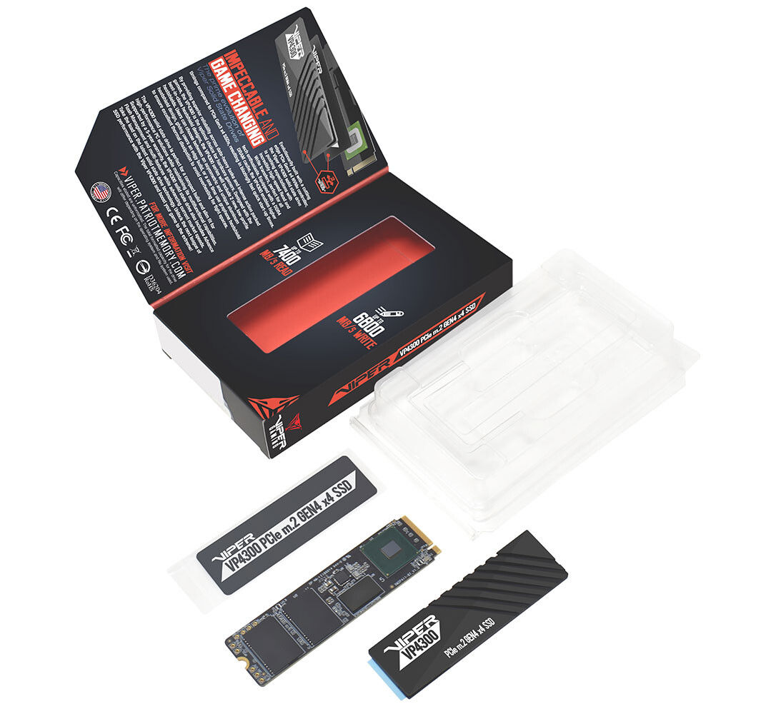 Patriot Viper VP4300 - Paket İçeriği