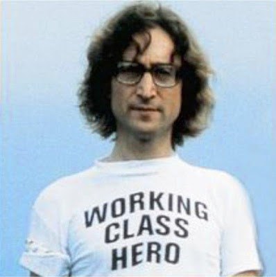 John Lennon t-shirt working class hero. PYGear.com