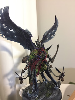 Death Guard Mortarion Daemon Primach 40k 8th edition painted