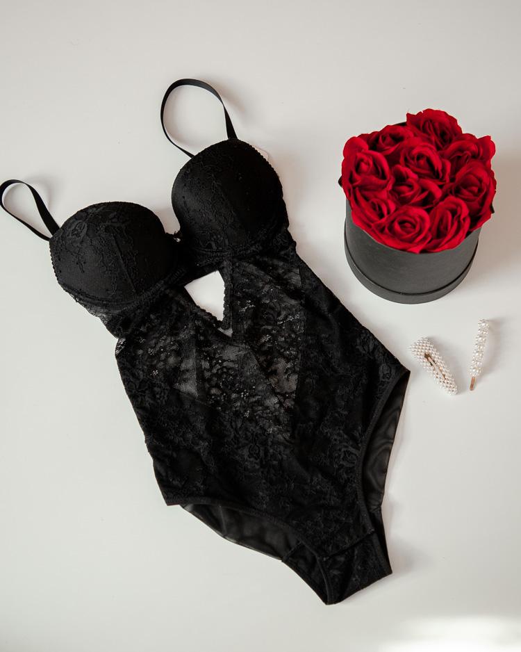 czarne sexowne body